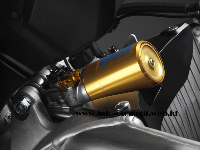 CBR1000RR SP suspensi belakang OHLINS