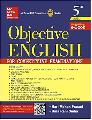 Download Free Tata McGraw Hill Objective English Grammar Book PDF