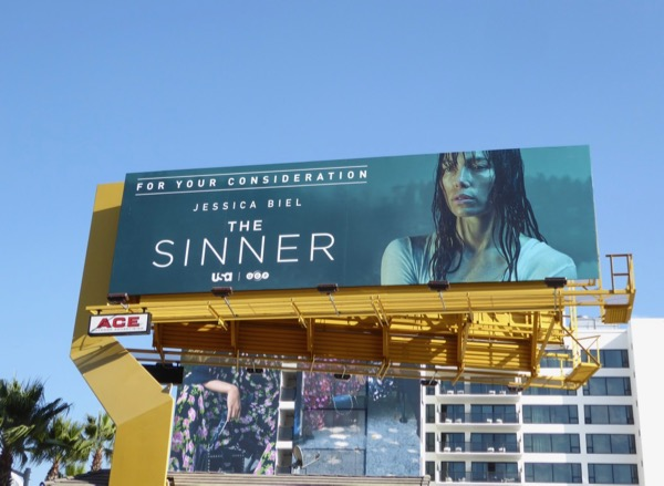 Sinner Golden Globe FYC billboard