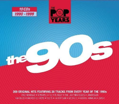 Pop Years 90s 2010 10CD Mp3 320 Kbps
