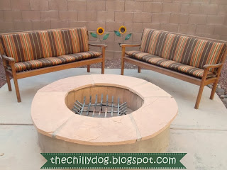 How to make basic chair or bench cushions for your patio furniture | The Chilly Dog