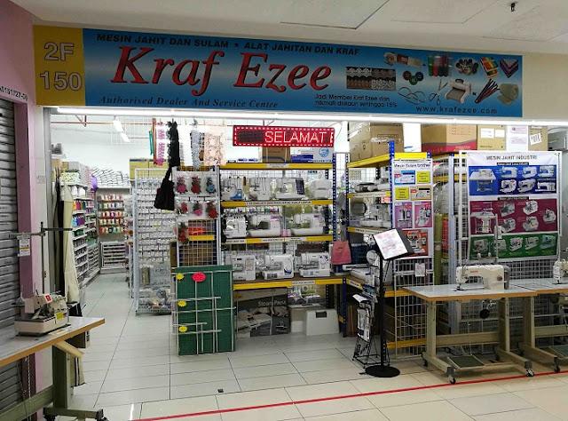 kedai mesin jahit dan alat jahit di bangi dan GM Klang