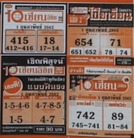 Thailand Lottery VIP Pointers For 01-02-2019 | Closing Blueprint