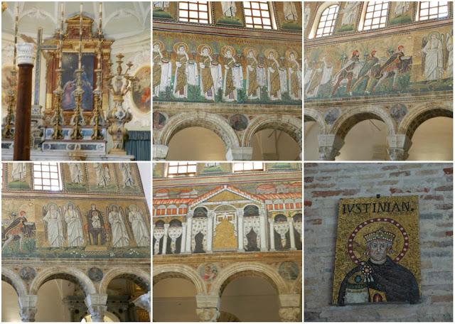 Os mosaicos de Ravenna (Itália) - Sant´Apolinario Nuovo