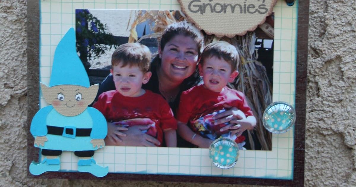 Gnome In Garden: Joy's Life Creative Team: Metals- Melisa