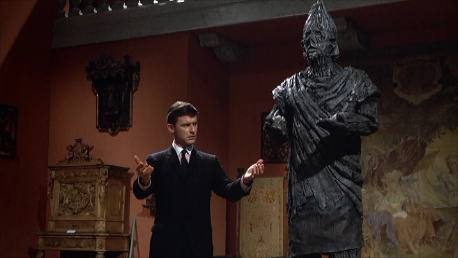 Roddy McDowall and the Golem of Prague from It! (1967)