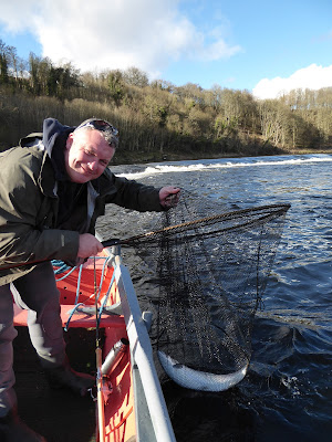 Salmon Fishing Scotland Tay, Perthshire Salmon fishing report w/e 4th March 2017.