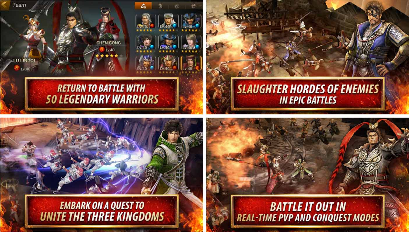 Dynasty Warrior: Unleashed Mod Apk v1.0.4.3 (God Mode)