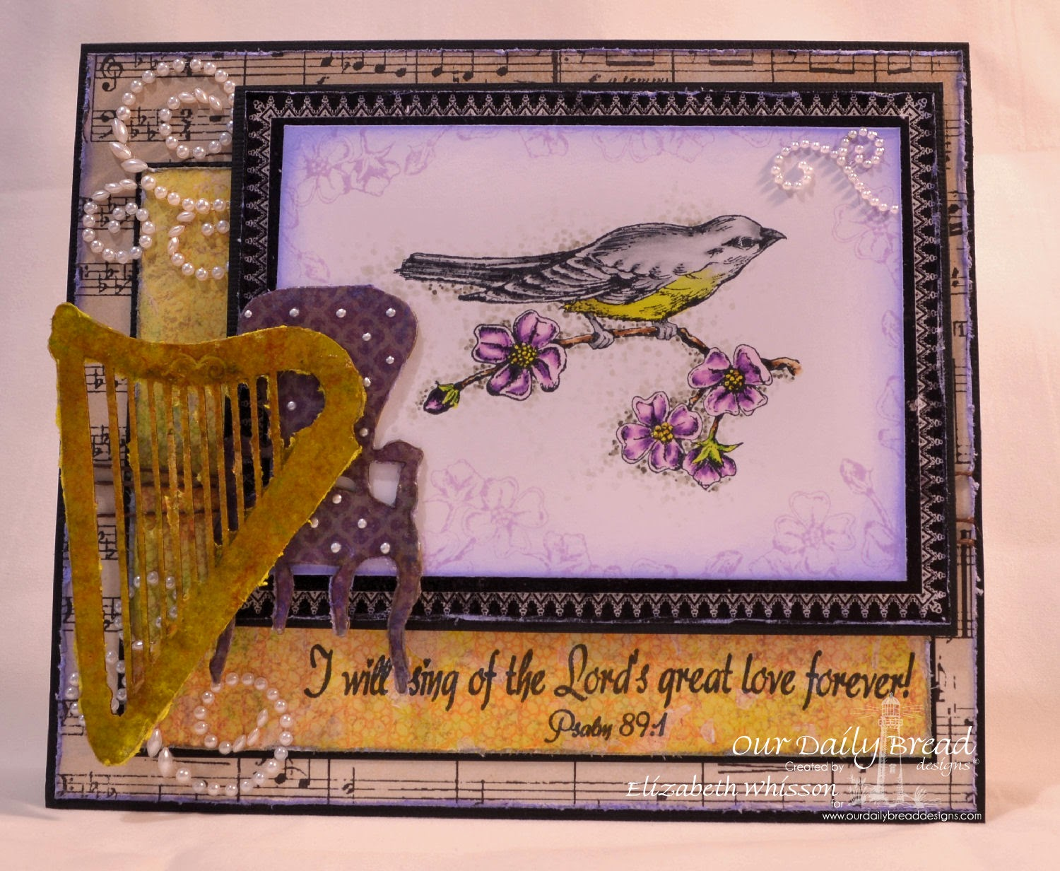 Elizabeth Whisson, Our Daily Bread Designs, Sing to the Lord, ODBD Blooming Garden Collection, ODBD Christian Faith Collection, ODBD Chalkboard Collection