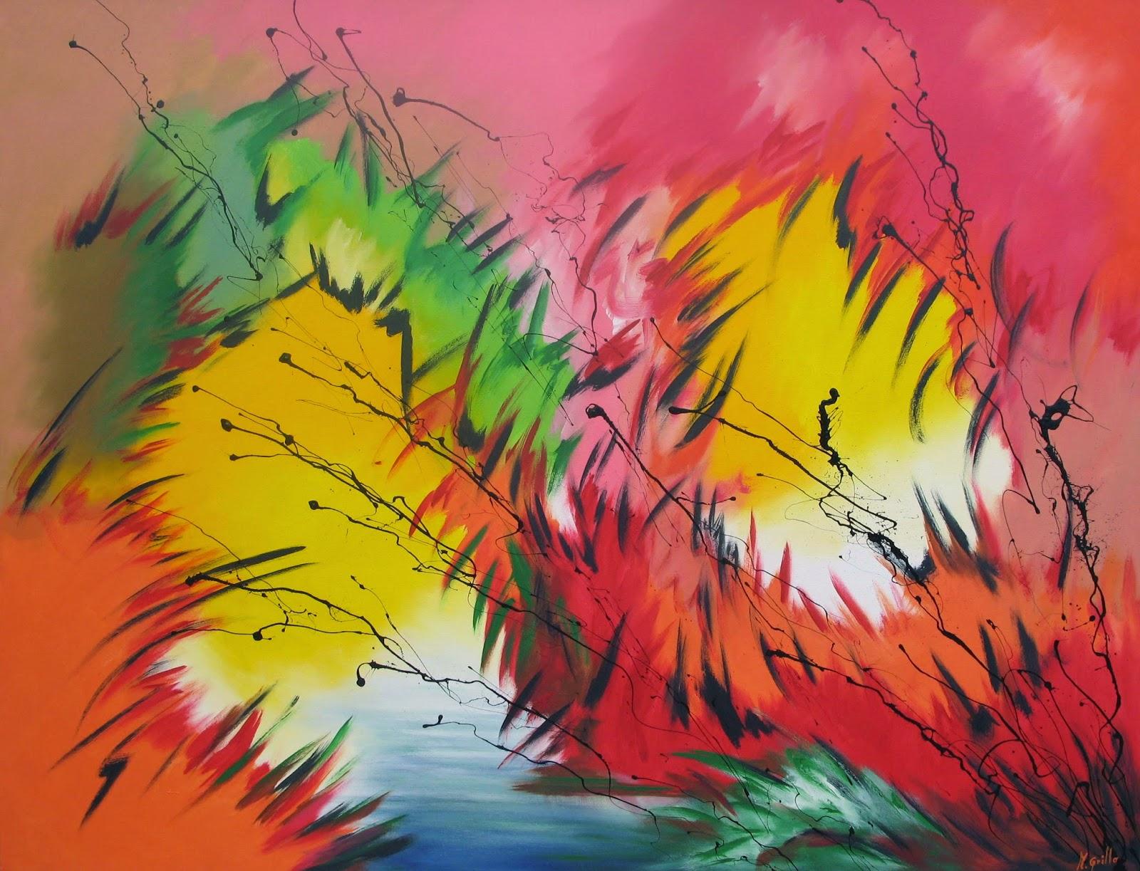 Cuadros pinturas oleos como hacer un cuadro rapido for Imagenes cuadros abstractos modernos