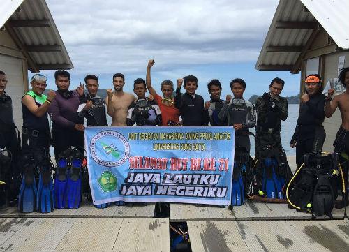 UKM Diving Proklamator Univ Bung Hatta