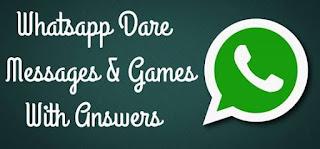 Whatsapp dare and quiz