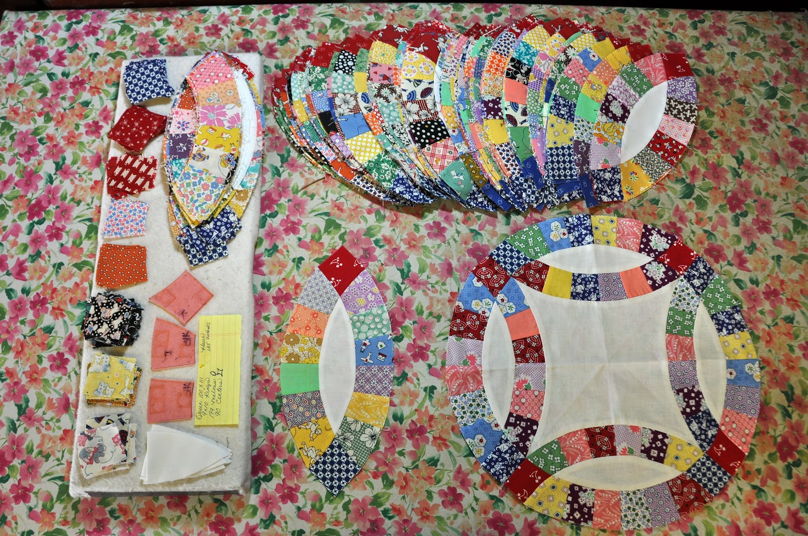 wedding ring quiltupdate - Wedding Ring Quilts