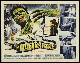 The Alligator People 1959 / Publicidad
