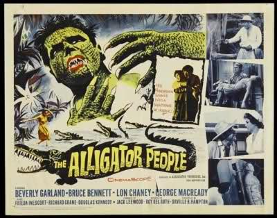 The Alligator People 1959 / Publicidad