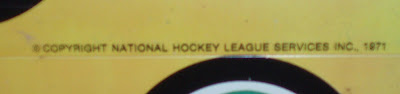 NHL Services Copyright line