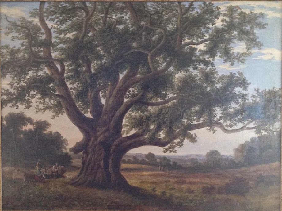 19th Century Oil Painting of Cowthorpe Oak unknown artist. Wikimedia