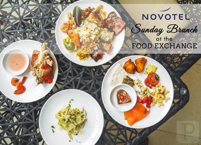Sunday Brunch at the Food Exchange - Novotel Manila Araneta Center