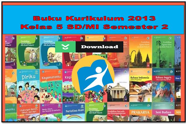 Buku peganngan Guru dan Siswa kelas 5 SD/MI Kurikulum 2013
