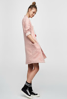 Manteau soft rose