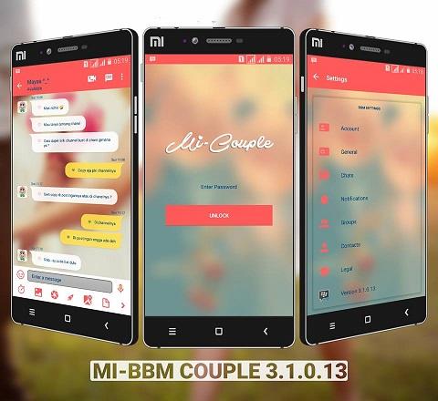 Mi-BBM Couple