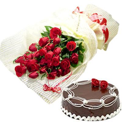 buket ruža za rođendan Rođendanske čestitke, slike, pozadine, SMS poruke: Čokoladna torta  buket ruža za rođendan