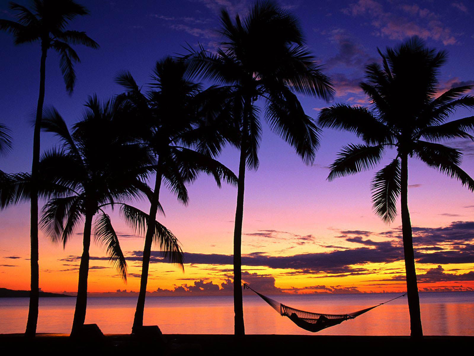 Tropical Island Sunset: Wallpapers: Island Sunset Wallpapers