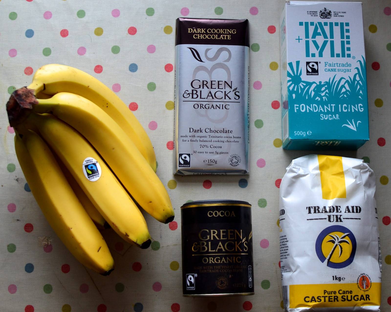 , Fairtrade Fortnight: Chocolate and Banana Cake Recipe #collectivebias #shop #vegan #dairyfree