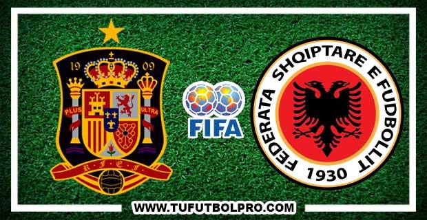 Ver España vs Albania EN VIVO Por Internet Hoy 6 de Octubre 2017