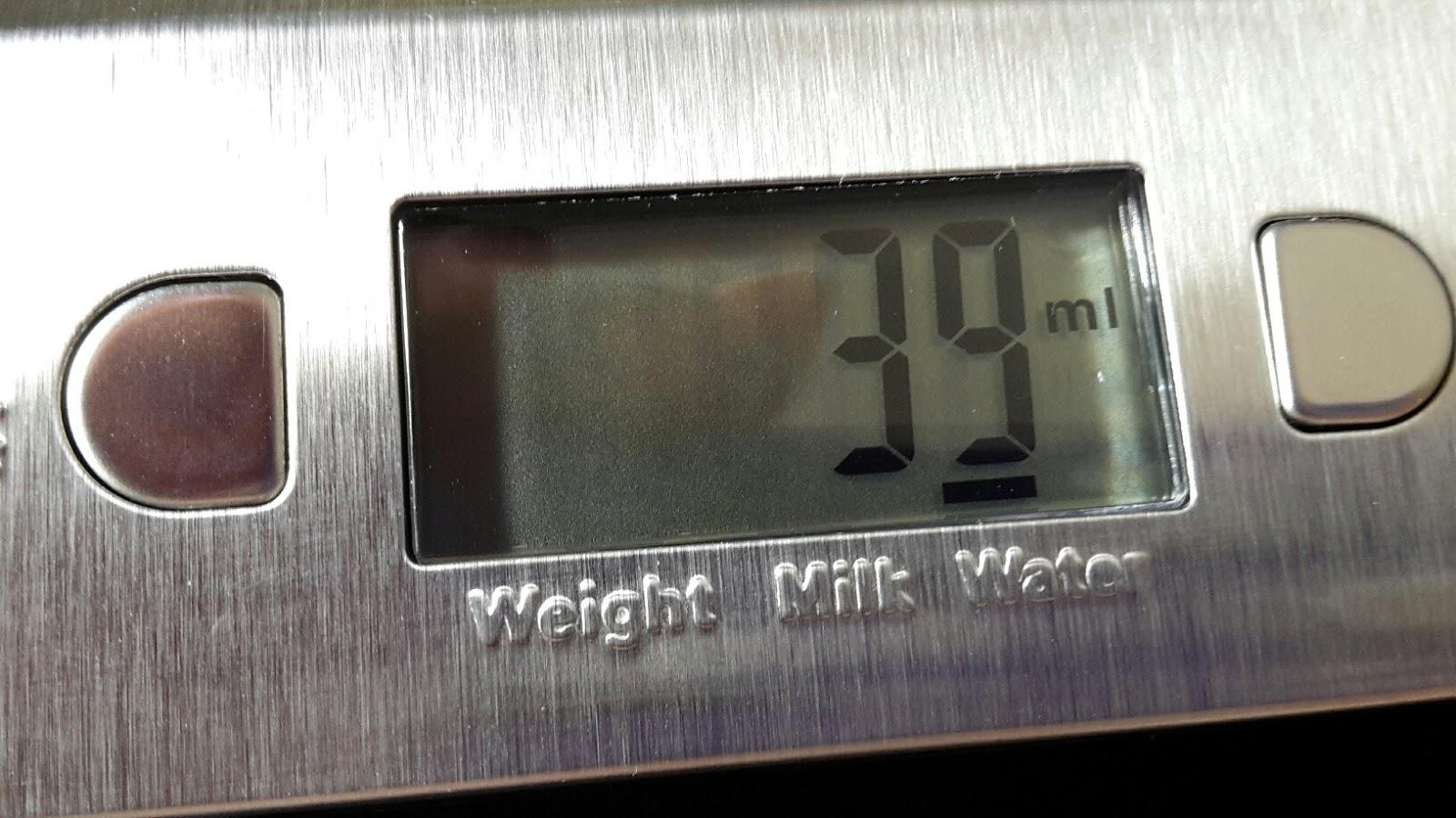 lahr2006 testet topop k chenwaage mit 11lb 5kg gewicht kapazit t edelstahl nahrungsmittelskala. Black Bedroom Furniture Sets. Home Design Ideas
