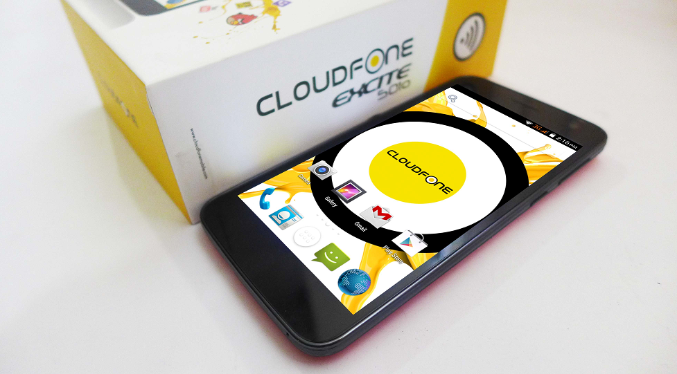 CloudFone Excite 501o: Specs, Price and Availability