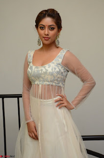 Anu Emmanuel in a Transparent White Choli Cream Ghagra Stunning Pics 026.JPG