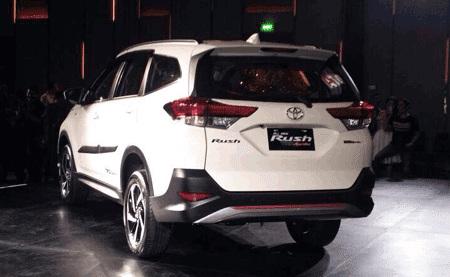 Toyota Rush Model Baru 2018