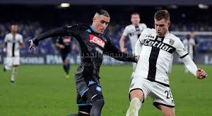 غاتوزو يتعرض للخسارة في اول مباراة مع نابولي امام فريق بارما في الدوري الايطالي