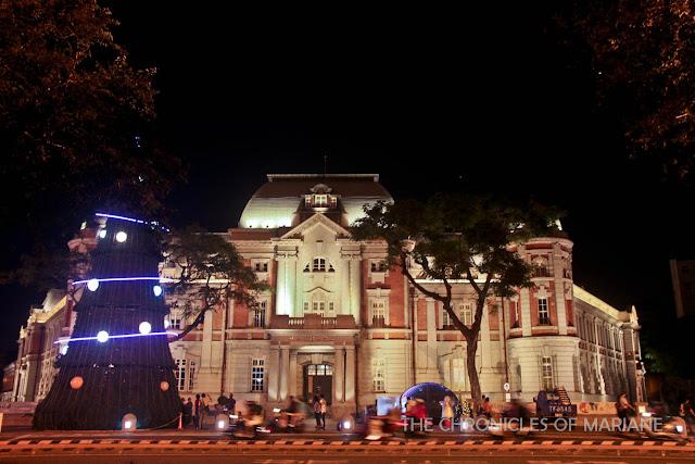 colonial building taiwan