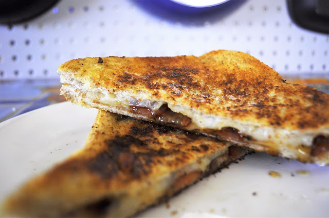 Grilled Cheese Recipe Bacon Manchego and Honey