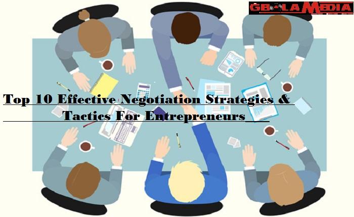 Negotiations Strategies Tactics