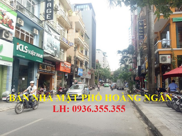 Bán nhà mặt phố Hoàng Ngân, Đỗ Quang, Cầu Giấy