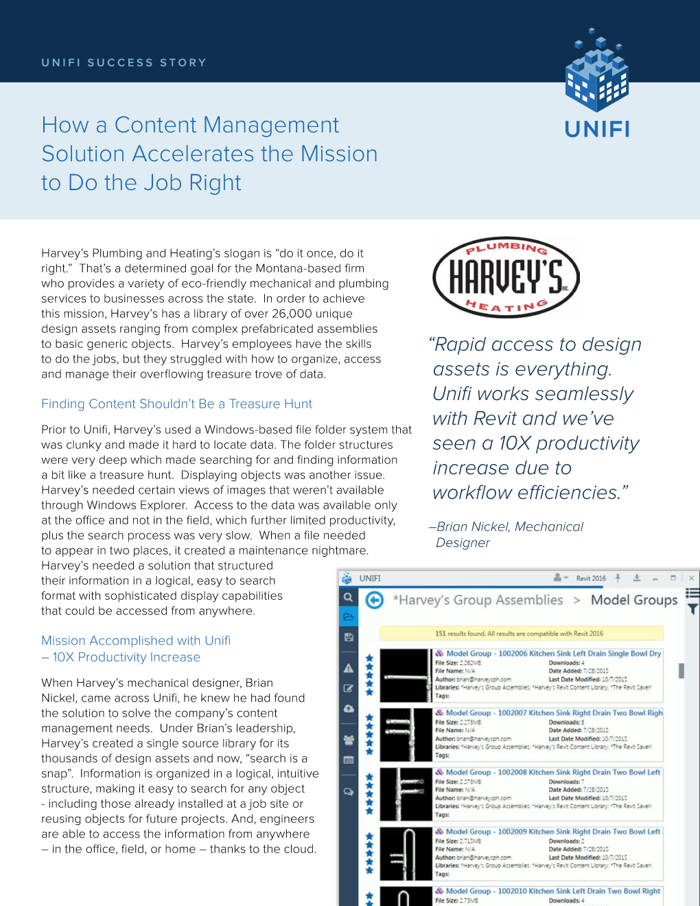 Unifi Success Story - Revit news