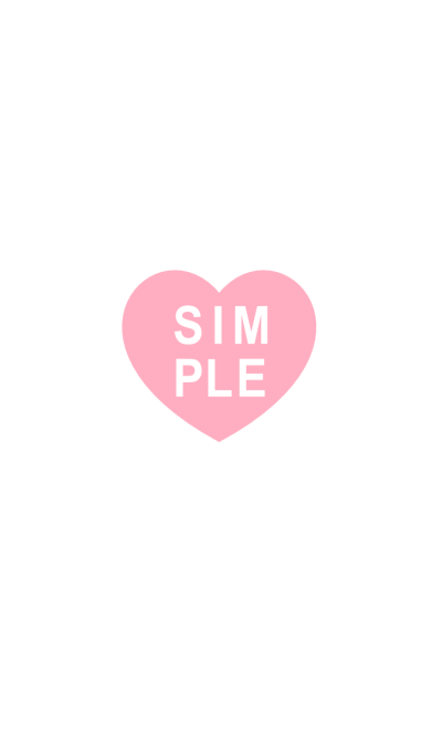 SIMPLE HEART SEAL(pink)V.1