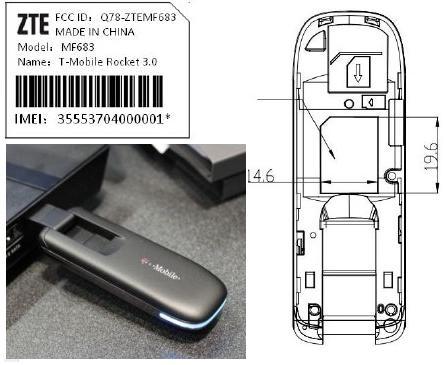 ZTE MF-683 : Rocket 3 0 HSPA+ 4G USB Modem (T-Mobile) | tecH
