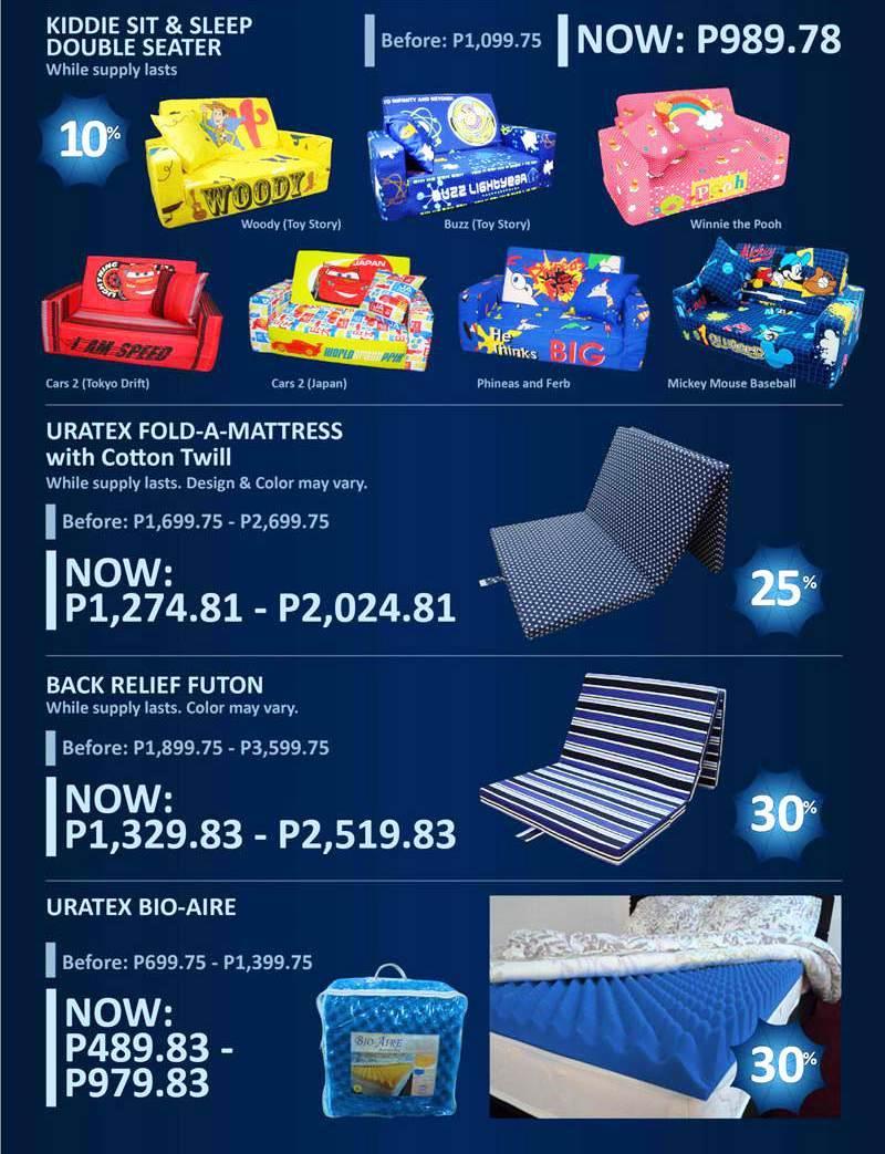 Manila Shopper Uratex July 2012 Promo