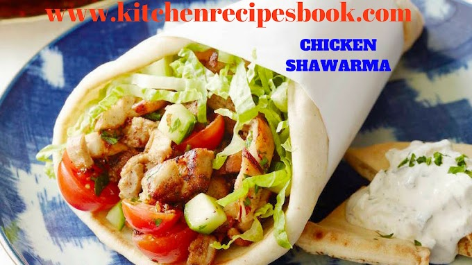 CHICKEN SHAWARMA RECIPE | HOMEMADE CHICKEN SHAWARMA