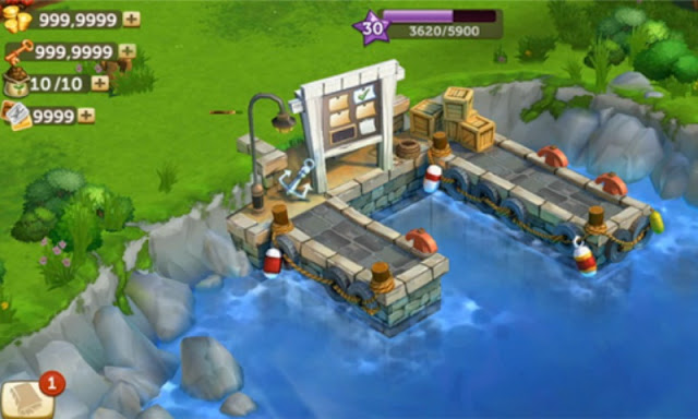 Download FarmVille 2 Country Escape MOD Terbaru