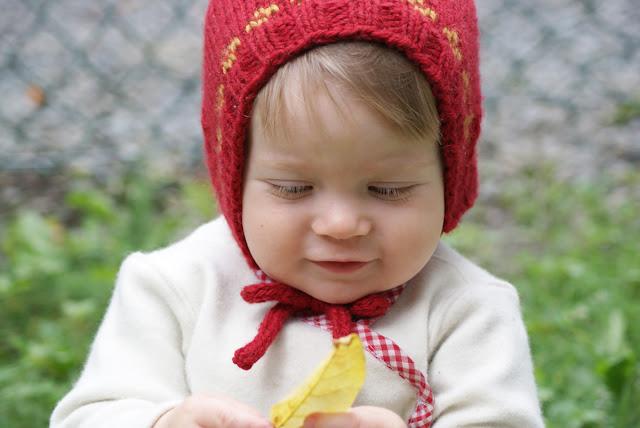 Bonnet Bégéguin tricoté en laine aran