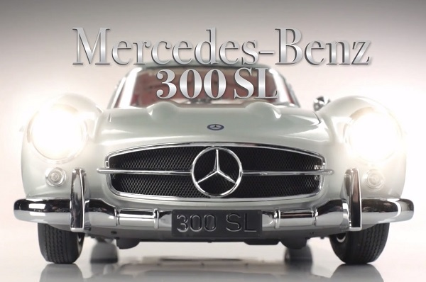 Colección Mercedes Benz 300 SL a escala del diario La Nación