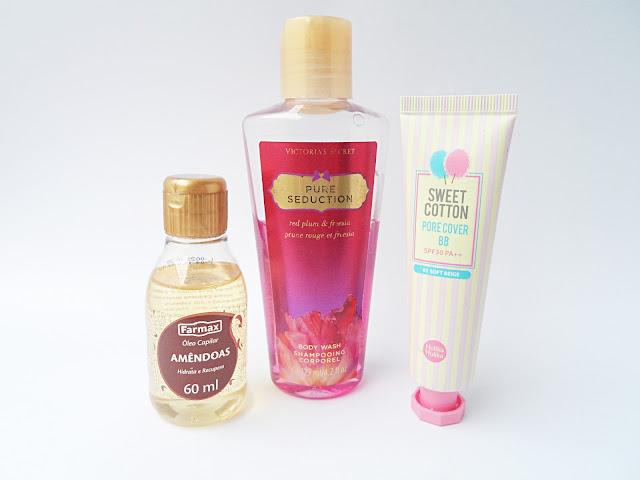 beauty haul beauty blogger october faves favorites liz breygel sweet cotton pure seduction peanut oil eyeliner by skin food