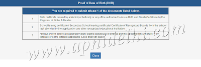Passport Birth Proof Documents List