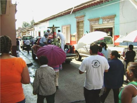Misa rogativa en México