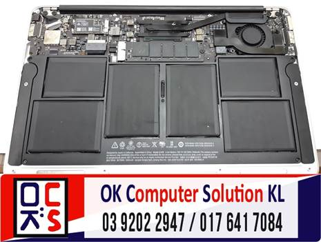 [SOLVED] MASALAH CANNOT ON MACBOOK AIR | REPAIR LAPTOP CHERAS 4